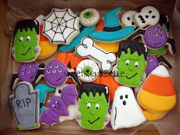 Decorated Halloween Sugar Cookies by Happy Halloween U2013 The Sweet Adventures Of Sugar Belle