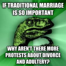 Traditional Marriage Meme - livememe com philosoraptor