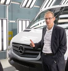 mercedes benz ceo mercedes benz vans chief north charleston plant already adding