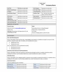 best photos of job profile template sample job description