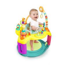 siège sauteur bébé bright starts siège d activités springin safari bounce a