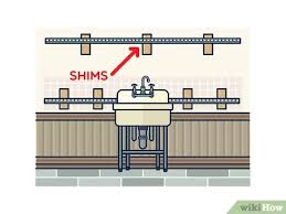 fitting ikea kitchen cabinets how to install ikea kitchen cabinets with pictures wikihow