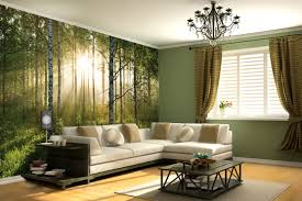 stories yearning for a bigger room try eye deceiving wall sunlit forest wall decal