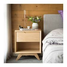 Interior Secrets Erika Scandinavian Wooden Bedside Table U2013 The Design Edit
