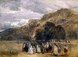 a welsh funeral betwys y coed u0027 david cox c 1847 50 tate
