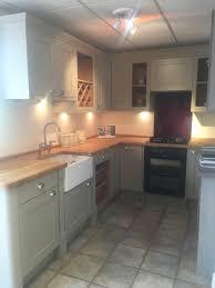 studio cambridge dakar kitchen with hardwood oak worktops