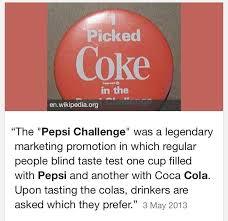 Pepsi Blind Taste Test Pepsi Twitter Search