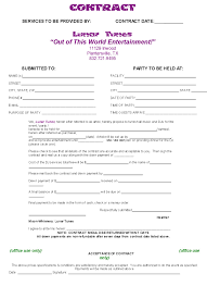 wedding planner contracts blank dj contract carbon materialwitness co