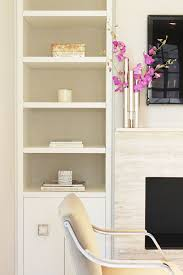 Bookcase Fireplace Designs Contemporary Built Ins U0026 Modern Stone Fireplace Living Spaces