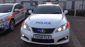 lexus cars grimsby humberside police lexus is f road crime unit light demo youtube