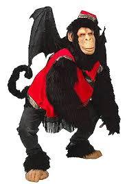 Super Deluxe Halloween Costumes Super Deluxe Flying Monkey Costume Wizard Oz Costumes