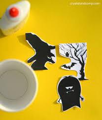 free printable halloween silhouettes free halloween silhouette printables crystalandcomp com