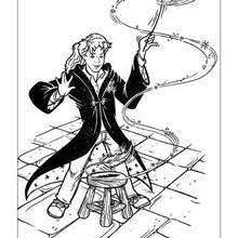 ron weasley coloring pages hellokids