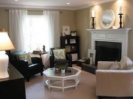 Corner Living Room Decorating Ideas - living room inspiring small living room with fireplace small