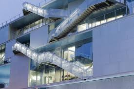 Ibc Stair Design by Steven Holl U0027s Linebacker Of A Sports Center Uncube