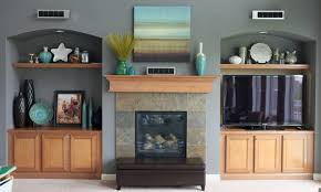 Styling The Family Room BuiltIns  Mantel - Family room built ins