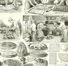 dictionnaire cuisine francais 1922 gravure vintage patisserie confiserie cuisine dictionnaire