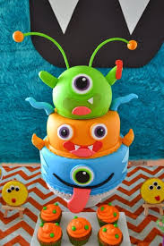 mini monster birthday cake image inspiration of cake and