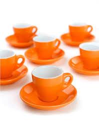 cool espresso cups orange espresso cups segafredo zanetti