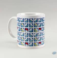art de la table design vente en ligne art de la table schtroumpfs les mug