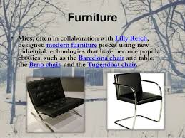 The Barcelona Chair Ludwig Mies Van Der Rohe