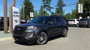 Ford Explorer Sport - 2017 ford explorer sport w twin pannel moonroof review island