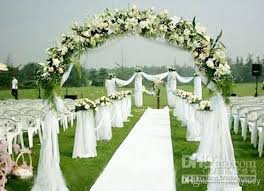 wedding arch backdrop 1 5m wide 110 meters curtain backdrop organza voile sheer