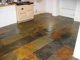 southton slate tiled floor after cleaning household products