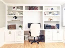 computer desk for living room built in desk reveal hometalk