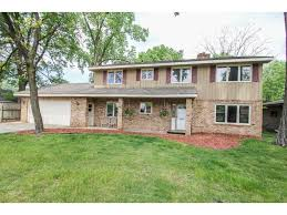 split level house with front porch 711 adams street anoka mn 55303 mls 4830481 edina realty