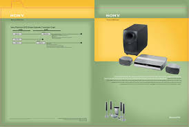 sony home theater amplifier download free pdf for sony dav lf1h home theater manual