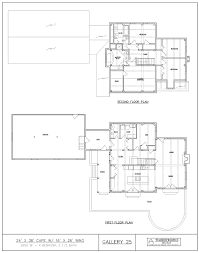 Post And Beam Floor Plans Post U0026 Beam House Plans And Timber Frame Drawing Packages By