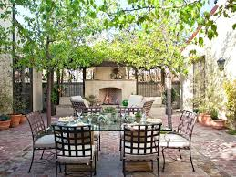 patio ideas dining roomcharming mediterranean dining area using