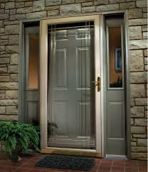 hall u0026 entrance natural white pella storm doors for living room