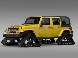 jeep rubicon yellow jeep wrangler unlimited x1 crawler 2016 3d cgtrader