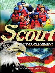 boy scout handbook 34554 boy scouts of america scouting