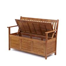 Wood Deck Storage Bench Plans by Wooden Storage Bench Benches Storage Bench With Cushion White