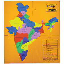 Indian Map Imagi Make Mapology States Of India Map Puzzle