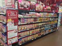 valentine u0027s bake center display at walmart side view gm wm