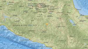 Mexico On A Map by 5 3 Magnitude Earthquake Shakes Mexico City Abc7 Com