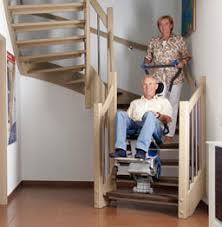 stair climber targets accessibility to a variety of staircases