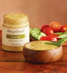 wasabi mustard wasabi mustard dip harry david