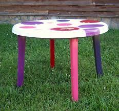 Patio Table Plastic Refurbished Plastic Patio Table Hometalk
