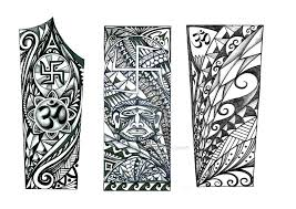forearm polynesian design indian elements by