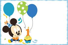 Free Printable Invitation Cards Templates Mickey Mouse Free Printable Invitation Templates