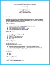 Network Analyst Resume Windows Server Administrator Resume Sample