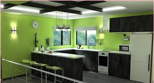 painting ideas for kitchen black modern wooden kitchen cabinets white modern refrigerator white