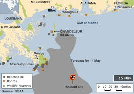 map of the gulf of mexico spill in gulf of mexico in maps and graphics