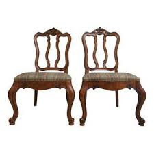 vintage u0026 used queen anne dining chairs chairish
