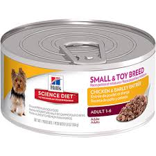 hill u0027s science diet small breed chicken u0026 barley canned dog